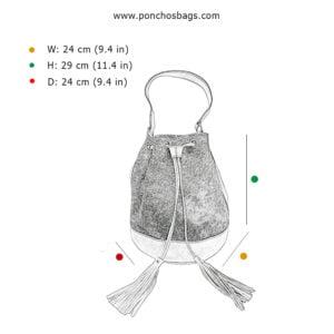 Bolso artesanal Kinich